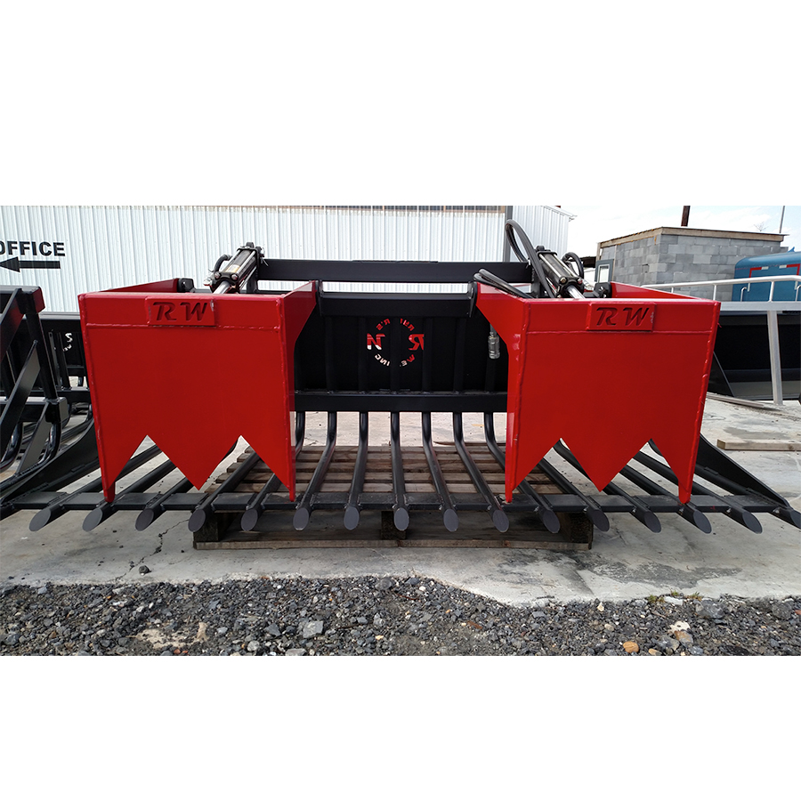 Rod Rock Bucket Grapple - Front